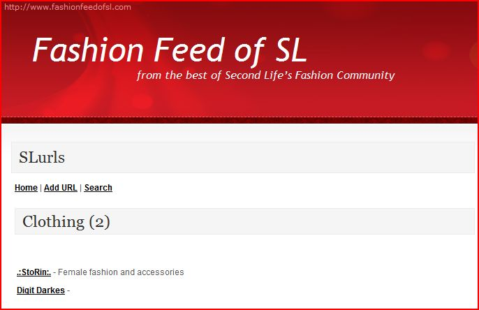 FashionFeedofSL Clothing Directory